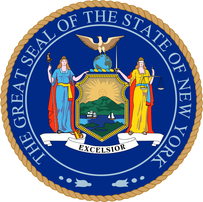 NEW YORK PUBLIC ADJUSTER STATE SEAL
