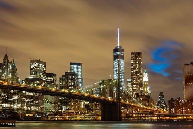 historic sites in NYC Brooklyn Bridge