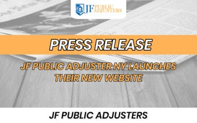 JF Public Adjuster NY Launches Their New Website