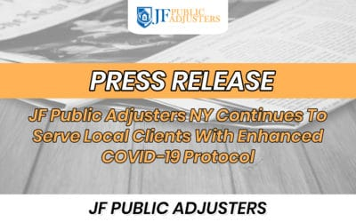 JF Public Adjusters NY Continues To Serve Local Clients With Enhanced COVID-19 Protocol